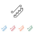stairs icon vector image