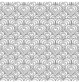 white and black hearts seamless pattern vector image vector image