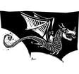 Dragon Rider vector image vector image