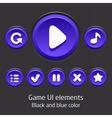 GameUiElements09 vector image vector image