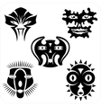 Masks - set vector image