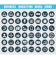 Set of business and marketing icons vector image vector image