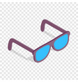 sunglasses isometric icon vector image vector image