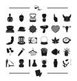 body body and other web icon in black style food vector image vector image