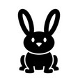 cartoon bunny rabbit graphic vector image vector image
