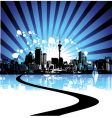 Cityscape background urban art vector | Price: 1 Credit (USD $1)