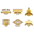 Design Elements for Beer House vector image vector image