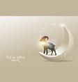 eid al adha 04 vector image vector image