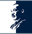 martin luther king jr vector image vector image
