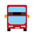 modern london bus vector image
