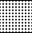 seamless circle modern pattern vector image