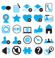 set icons for community vector image vector image