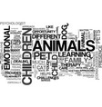 woof i can help text word cloud concept vector image vector image