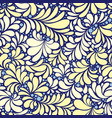 yellow and white tiles ornament seamless pattern vector image