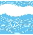 Abstract Ship vector image vector image