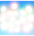 Colorful Bokeh Light Background vector image vector image