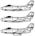 dassault md450 ouragan vector image vector image