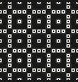 monochrome texture delicate floral geometric vector image vector image