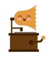 old music player isolated icon vector image vector image