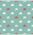 seamless colorful pattern - childish arrow vector image vector image