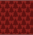 seamless pattern merry christmas wrapping vector image vector image
