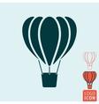 Balloon icon isolated vector image
