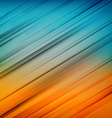 Abstract straight lines background Colorful vector image vector image