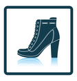 Ankle boot icon vector image vector image
