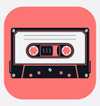 Audio Tape Icon vector image