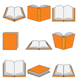 Book icon-Education vector image