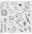hand drawn graffiti vector image vector image