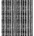 Pattern of black grunge stripes Vertical striped vector image