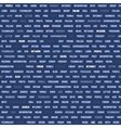 seamless pattern with social network keywords vector image