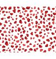 valentine hearts seamless background vector image