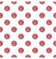 vinyl record pattern seamless vector image vector image