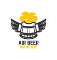 air beer logo vector image