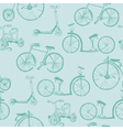 Baby Bicycle Background vector image vector image
