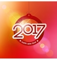 Happy New Year design elements Merry Christmas vector image