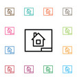 isolated project icon paper element can be vector image
