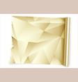kitchen gold foil roll vector image vector image