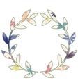 Wreath vintage vector image vector image