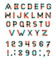 Alphabet Set vector image vector image
