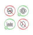 bitcoin exchange money diagram and update data vector image vector image
