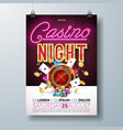 Casino night flyer