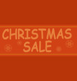 christmas advertising text on background of vector image vector image