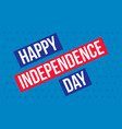 happy independence day background style vector image vector image