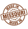 made in missouri vector image vector image