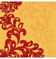 Ornamental background vector image