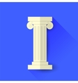 Single Greek Column vector image
