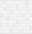 white tiles texture vector image